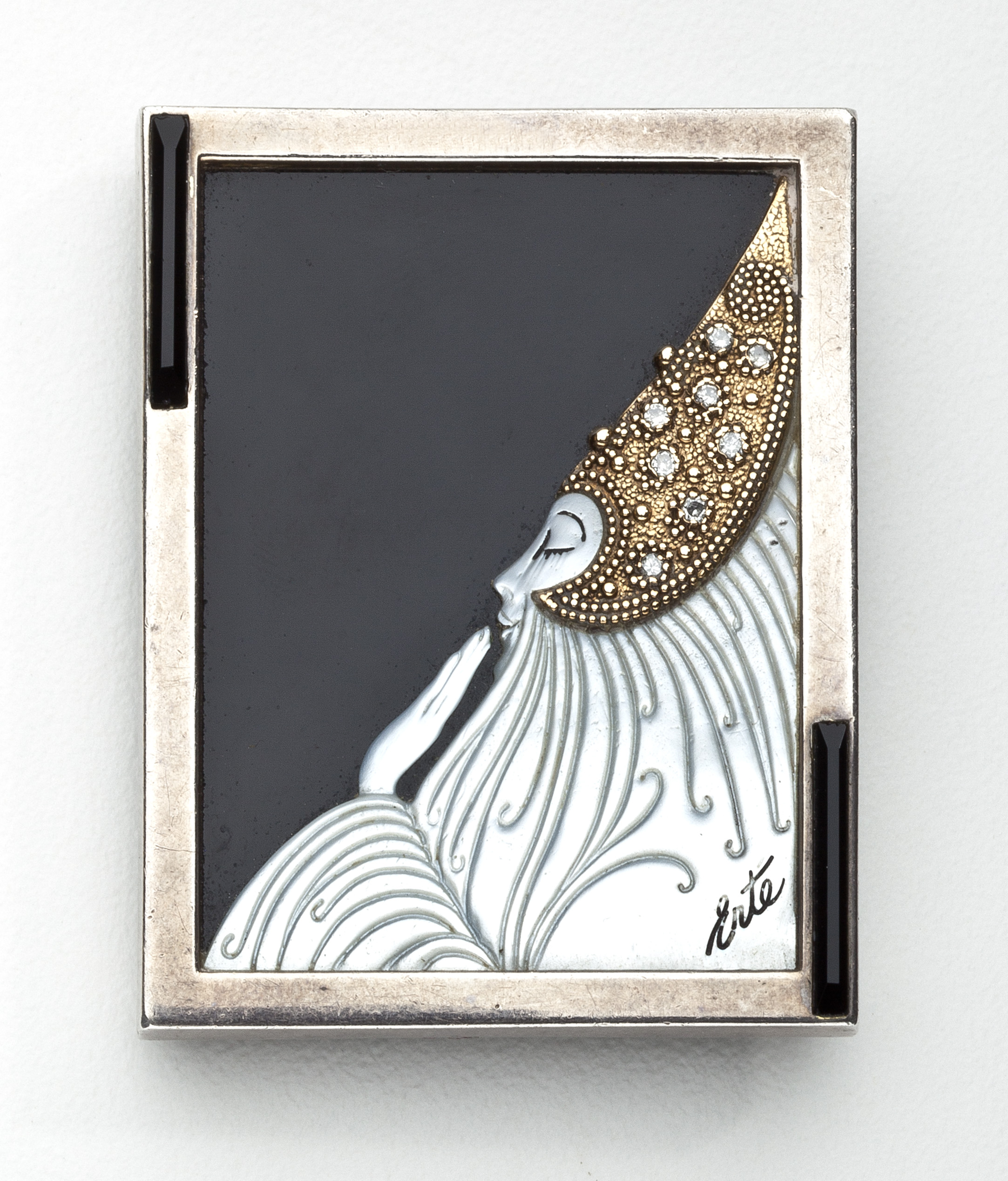 erte art deco brooch